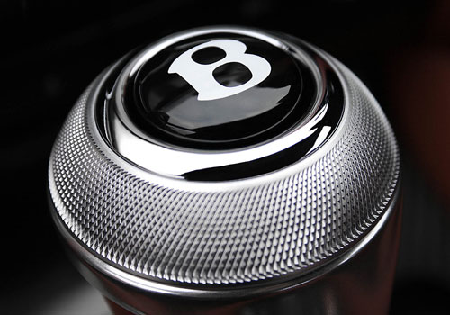 Bentley Continental Gear Knob Interior Picture