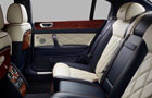 Bentley Continental Rear Seats Picture