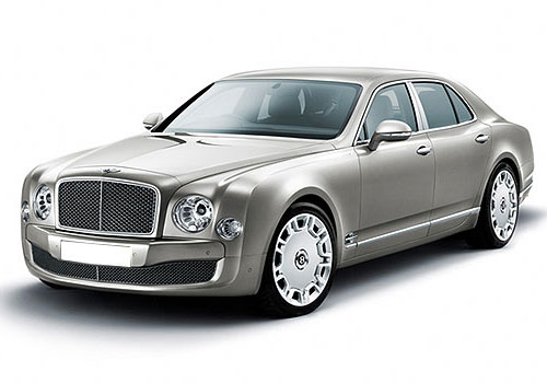 Bentley Mulsanne Front View Side Picture