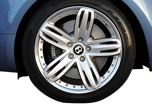 Bentley Mulsanne Wheel and Tyre Exterior Picture