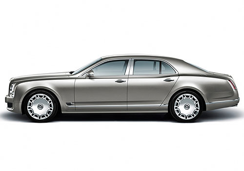 Bentley Mulsanne Front Angle Side View Exterior Picture