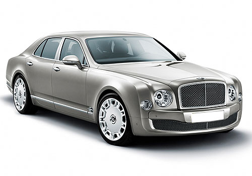 Bentley Mulsanne Front Low Angle View Exterior Picture