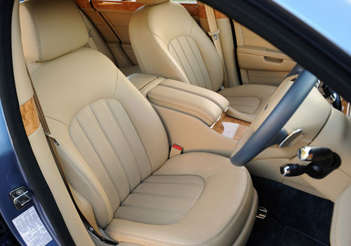 Bentley Mulsanne Front Seats Interior Picture