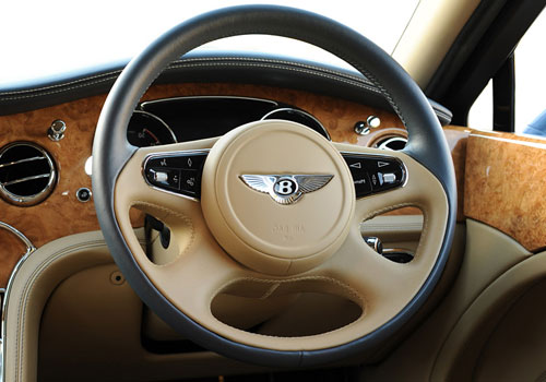 Bentley Mulsanne Steering Wheel Interior Picture
