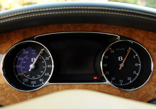 Bentley Mulsanne Tachometer Interior Picture