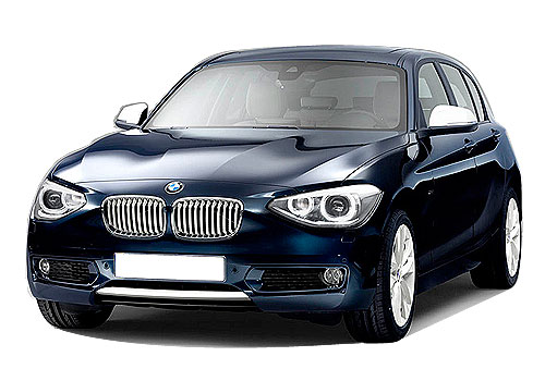 BMW 1 Series Front Angle View Exterior Picture