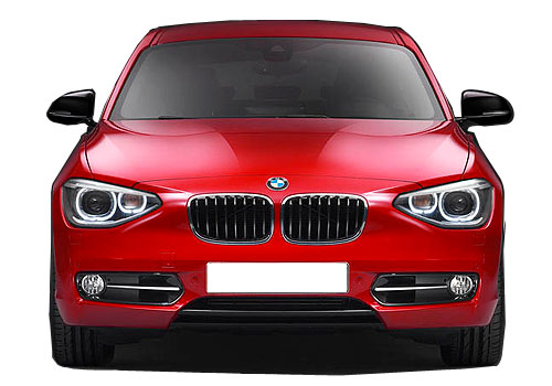 BMW M1 Series Front View Picture