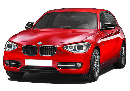 BMW 1 Series Front Angle High View Picture