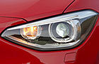 BMW 1 Series Head Light Pictures