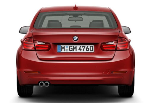 BMW 3 Series Rear View Exterior Picture