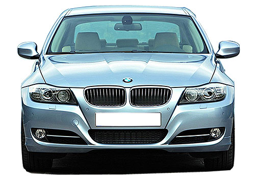 BMW 3 Series Front View Exterior Picture
