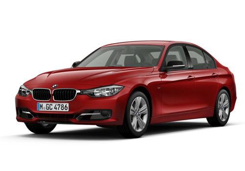 BMW 3 Series Front High Angle View Exterior Picture