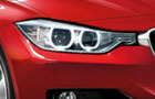 BMW 3 Series Headlight Pictures