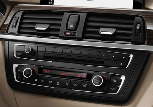BMW 3 Series Front AC Controls Interior Picture
