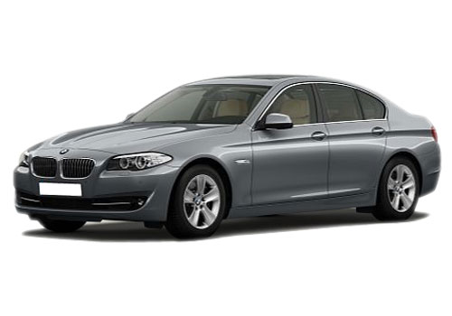 BMW 5 Series Front Angle View Exterior Picture