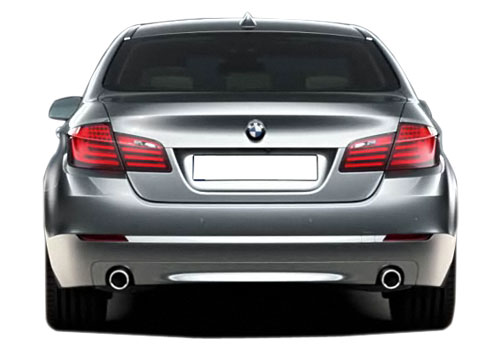 BMW 5 Series Rear View Exterior Picture