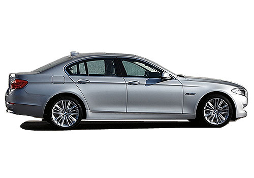 BMW 5 Series Side Medium View Exterior Picture