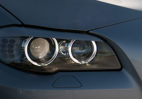 BMW 5 Series Headlight Exterior Picture