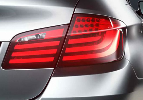 BMW 5 Series Tail Light Exterior Picture