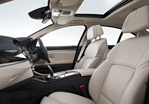 BMW 5 Series Front Seats Interior Picture