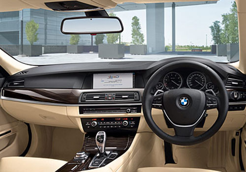 BMW 5 Series Courtsey Lamps Interior Picture