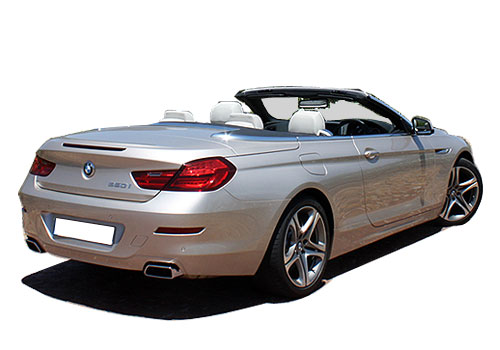 BMW 6 Series Rear Angle View Exterior Picture