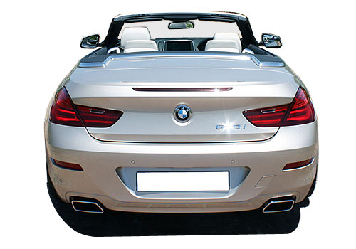 BMW 6 Series Rear View Exterior Picture
