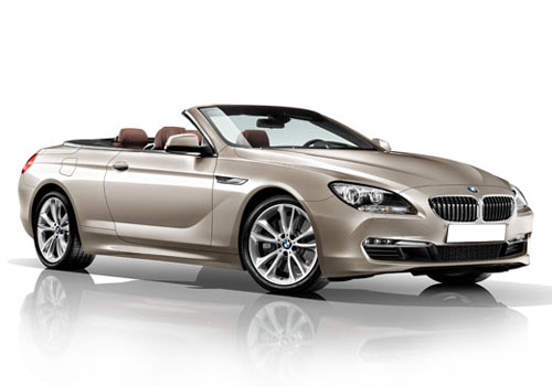 BMW 6 Series Front Side View Exterior Picture