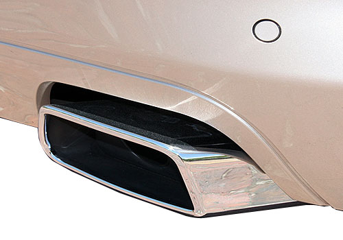 BMW 6 Series Exhaust Pipe Exterior Picture