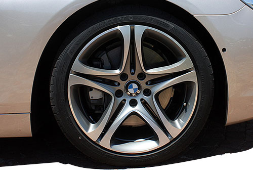 BMW 6 Series Wheel and Tyre Exterior Picture