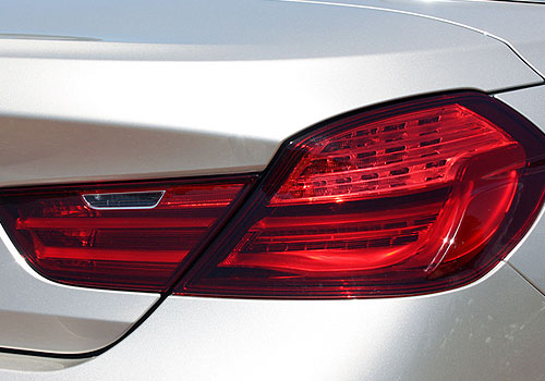 BMW 6 Series Tail Light Exterior Picture