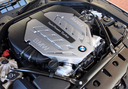 BMW 6 Series Engine Interior Picture