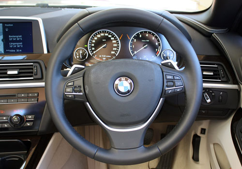 BMW 6 Series Steering Wheel Interior Picture