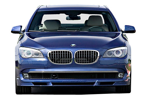 BMW 7 Series Front View Exterior Picture