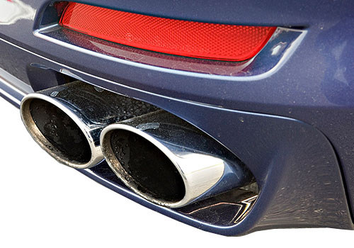BMW 7 Series Exhaust Pipe Exterior Picture