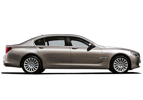 BMW 7 Series Side Medium View Exterior Picture