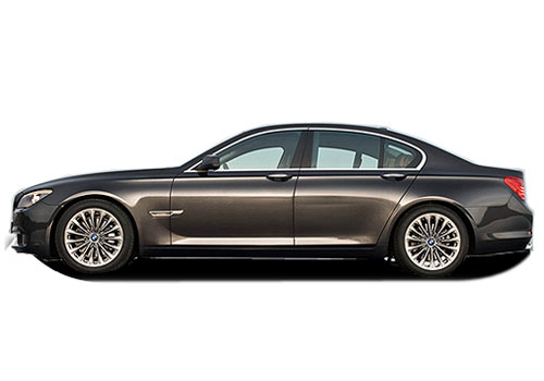 BMW 7 Series Front Angle Side View Exterior Picture