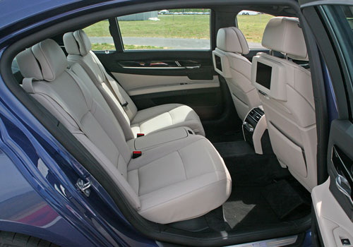 BMW 7 Series Rear Seats Interior Picture