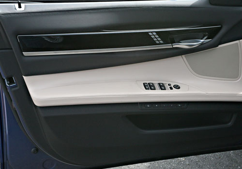 BMW 7 Series Inside Driver Side Door Open Interior Picture