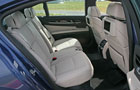 BMW 7 Series Rear Seats Picture