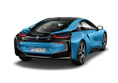 BMW i8 Rear Angle View Exterior Picture
