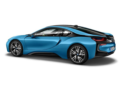 BMW i8 Cross Side View Exterior Picture