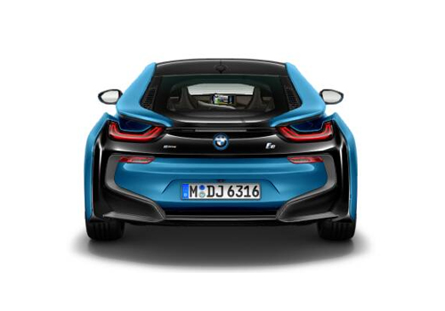 BMW i8 Rear View Exterior Picture