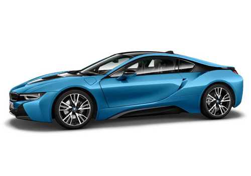 BMW i8 Front Angle Low Wide Exterior Picture