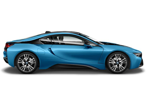 BMW i8 Side Medium View Exterior Picture