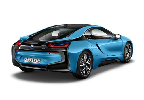 BMW i8 Tail Light Exterior Picture