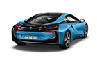 BMW i8 Rear Angle View Picture