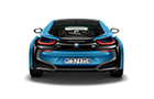 BMW i8 Rear View Picture