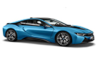 BMW i8 Front Side View Picture