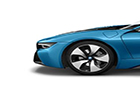 BMW i8 Wheel and Tyre Picture